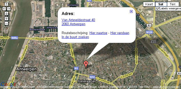 Google Van Arteveldestraat 40